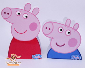 Cx Peppa e George Pig