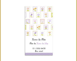Mommy Card - Flores