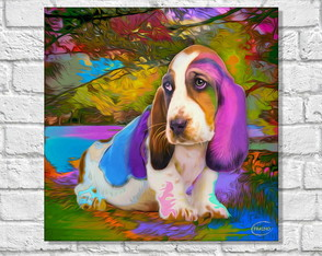 Placa Decorativa POP ART - CACHORROS