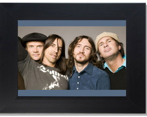 QUADRO DECORATIVO-RED HOT CHILI PEPPERS