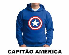 167804d89 Moletom Chapolin · Moletom Lanterna Verde · Moletom Capitão América ·  Moletom Flash