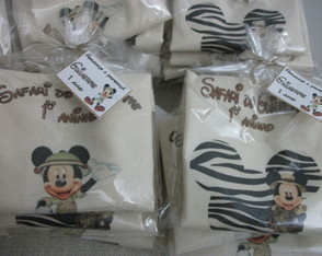 Eco bag Mickey Safari