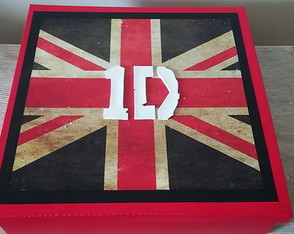 Caixa Decorada UK-One Direction