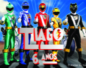 Arte Digital Power Rangers