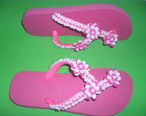 Chinelo havaianas top decorado