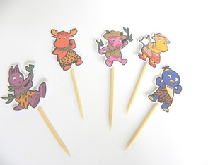 100 pins p/ montar backyardigans