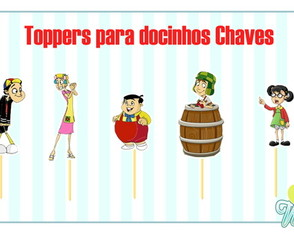 Topper no tema Chaves