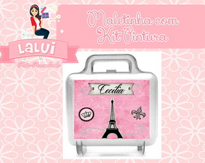 Kit Pintura Paris - Maletinha