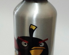 Squeeze Alumínio 500 ml - Angry Birds