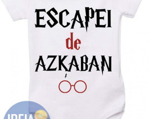 Body Infantil - Escapei de Azkaban