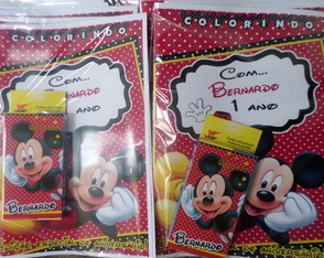 Kit Colorir Do Mickey