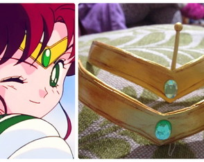 Tiaras das sailors de Sailor Moon