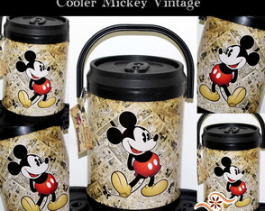 Cooler Mickey Vintage
