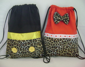 MOCHILA MINNIE SAFARI