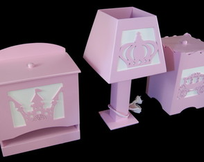 kit-quarto-bebe-higiene-princesa-rosa-3d-safari