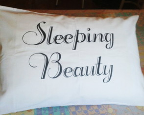 Fronha Personalizada Sleeping Beauty