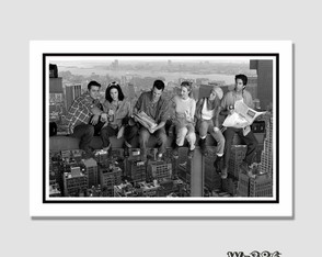 Quadro Seriados Tv Show Friends 60x40cm N7 Decoracao Quarto