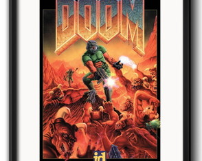 Quadro Doom Game com Paspatur