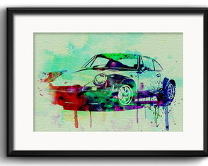 Quadro Porche 911 Pop Art com Paspatur
