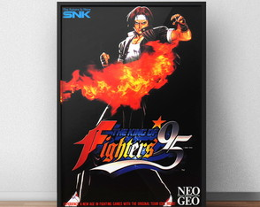 Quadro King of Fighters 95 Game