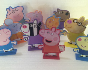 Kit turma da Peppa