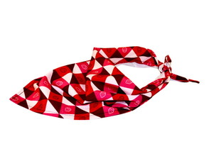 Bandana Pet Morango com Chantilly (P)