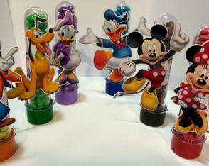 Aplique para Tubete Turma do Mickey - 9cm