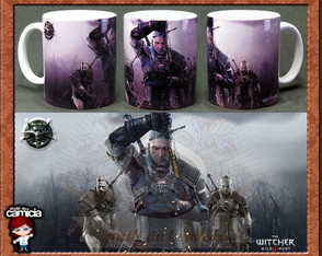 Caneca The Witcher 01