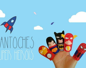 Fantoches Super Herois