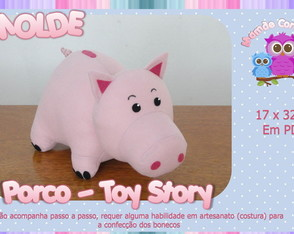 Molde do Porquinho- Toy Story