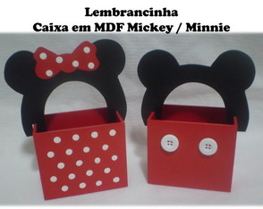 Caixa Mickey / Minnie