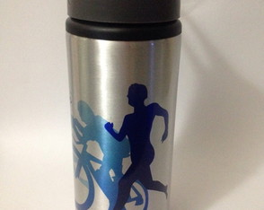 Squeeze Alumínio 600 ml - Triathlon