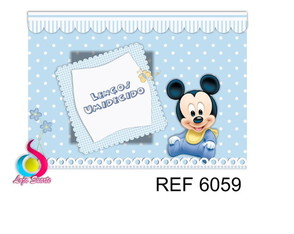 Kit Toilete Mickey baby 6059