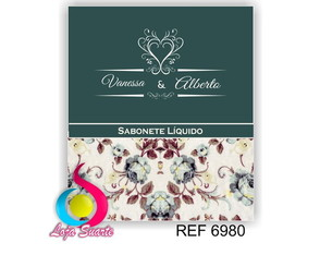Kit Toilete floral 6980