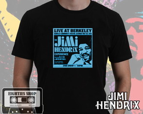 Camiseta Jimi Hendrix live at berkley
