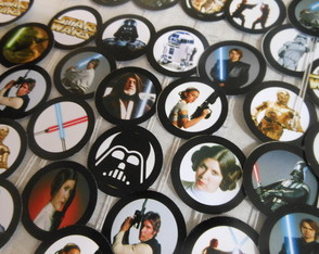 Topper Doces/cupcakes Star Wars