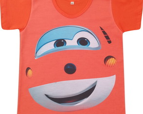 Camiseta infantil Jet Super Wings
