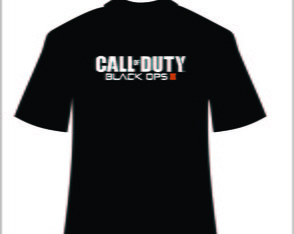 Camiseta do jogo Call Of Dunty Ops 3