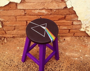 Banqueta The dark side of the moon
