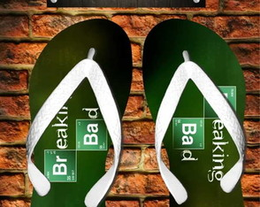 Chinelo Personalizado Breaking Bad