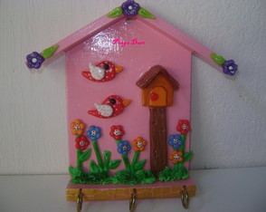 Porta Chaves MDF com Biscuit
