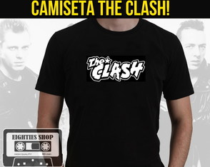 Camiseta de banda de rock - The Clash