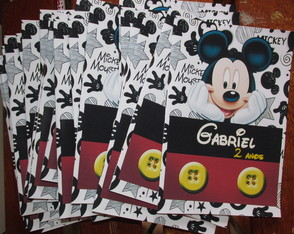 Revista para colorir mickey 14x10