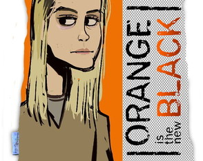 Almofada Orange is The New Black Chapman