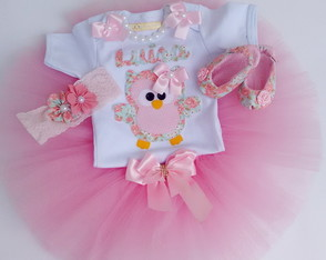 Kit FANTASIA CORUJINHA FLORAL CHICK