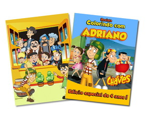 Revista para colorir Chaves 14x10