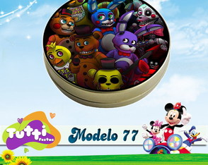 FIVE NIGHTS AT FREDDY'S - MODELO 77