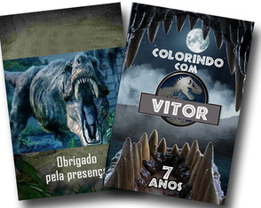 Revista jurassic world 14x10