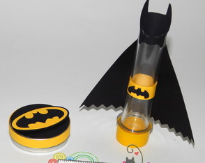 Kit festa Batman latinha + tubete