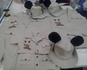Kit Safari Familia mickey